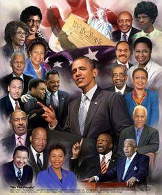 We the People Black Art