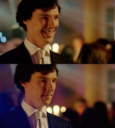 Sherlock. Alone. AT the wedding. I would have done anything to make sure he wasn't alone on that dance floor. The more I think about it, the more I want to cry.
