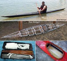 Folding Kayak Builders Manual - Homebuilt Folding Kayaks by Thomas Yost