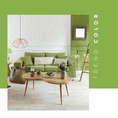 Inspirador y vital: Greenery, color de temporada ✓