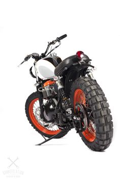Triumph Custom Scrambler via bonnefication.com