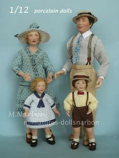Custom dolls, porcelain scale 1/12