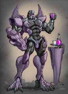 Megatron: Transformers Beast Wars by ZeroMayhem.deviantart.com on @DeviantArt