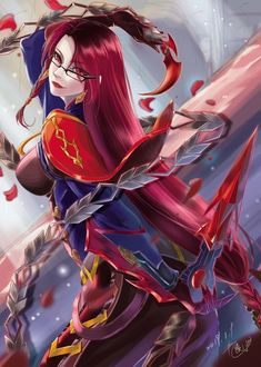 Unknown artist - Step In To The Gallery Fantasy Characters, Character Design, Character Art, Fantasy Artwork, Anime Art Fantasy, Mobile Legend Wallpaper, Anime, Anime Characters, Anime Artwork