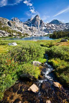 Rae Lakes, Kings Canyon National Park, California; photo by Jeff Pang