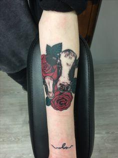 vegan cow tattoo                                                                                                                                                                                 More