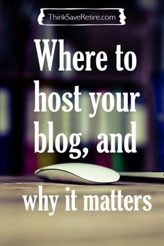 Looking to start a blog to let you voice be heard and make a little extra income? Where you host matters A LOT!