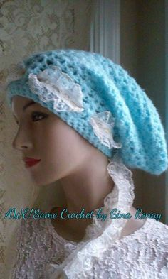 ~ #CROCHET 1 HAT DAILY! ** ~ Day 339 ** AWE!Some Crochet by Gina Renay ImaGINAtions To purchase, send inquiry to  ginarenay@yahoo.com