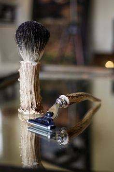 Antler Shaving Combo by TheDapperFox on Etsy, $79.00