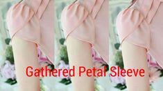 Gathered Tulip (Petal) Sleeve Cutting Stitching in hindi.