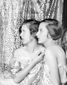 Cecil Beaton's sisters. Photo by Cecil Beaton, 1925.