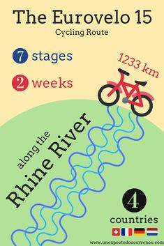A Non-Cyclist's Guide to the Rhine Cycle Route: An Overview of the Eurovelo 15 S. - A Non-Cyclist's Guide to the Rhine Cycle Route: An Overview of the Eurovelo 15 Stages - Mountain Bike Shoes, Mountain Biking, Cycling For Beginners, Cycle Route, Bicycle Maintenance, Camping Guide, Bike Trails, Cycling Equipment, Paris