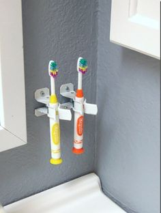 Pearly Whites: 5 Clever Storage Ideas For Kidsu0027 Toothbrushes