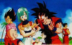Moody Vegeta | Goku | Gohan | Kuririn | Bulma | Baby Trunks and...Loser Yamcha kkkk Just Kidding Yamcha..I Like You!