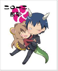 Taiga x Ryuuji