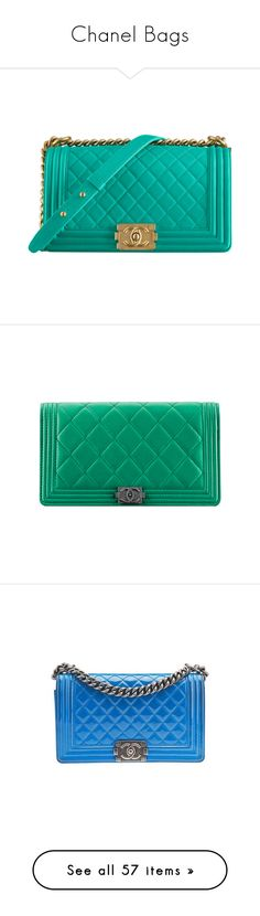 """""""Chanel Bags"""" by summermemories1998 ❤ liked on Polyvore featuring Color, bags, handbags, clutches, lambskin handbags, green handbags, chanel purse, chanel, chanel pochette and shoulder bags"""