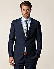 Edwin Suit - Tiger of Sweden - Blå - Kostymer - Kläder man - NELLY.COM