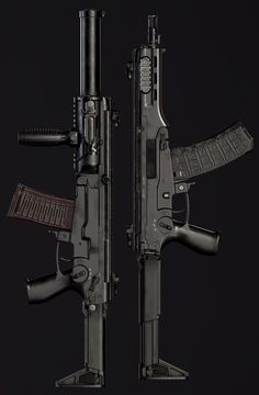 Prototype of modern russian compact assault rifle based on a soviet Dragunov MA is a lightweight CQB weapon is the intended replacement for is a noiseless version of it looks like a AS VAL or AAC Honey Badger The truth is on a Military Weapons, Weapons Guns, Airsoft Guns, Guns And Ammo, Military Brat, Us Ranger, Future Weapons, Concept Weapons, Custom Guns