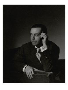 "Horst P. Horst  (August 14, 1906 – November 18, 1999) is one of the most celebrated photographers in the history of Vogue magazine. Born in Germany, he apprenticed in Paris under Le Corbusier and got his start at Vogue after meeting photographer Baron George Hoyningen-Huene. A Horst photo is known for dramatic lighting and imaginative props and sets. One of the great iconic photos of the Twentieth-Century is ""The Mainbocher Corset""  captured by Horst in Vogue's Paris studio in 1939."