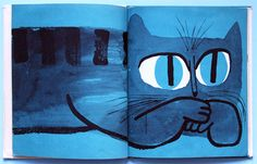 A Fresh Look At Cats by Sir Abner Graboff.  F. Watts, 1963.  (via My Vintage Avenue !!! 50s and 60s illustrations !!!)