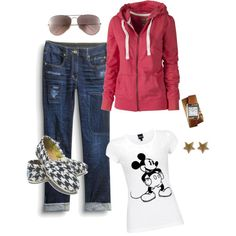 My standard Fall Saturday Soccer Look.minus the Hermes watch. Cute Disney Outfits, Disney World Outfits, Disney Clothes, Disney Fashion, Cute Outfits, Disneyland Ideas, Disneyland Trip, Vacation Clothing, Vacation Outfits