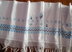 277. Antique handmade hand embroidered pure linen
