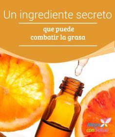 Un ingrediente secreto que puede combatir la grasa  Todos sabemos que consumir vitamina C a diario nos mantiene saludables, ya que ayuda a producir el colágeno necesario para mantener una piel sana y bella,