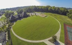 Clubhouse Grounds at Tollgate Village- Lennar Nashville