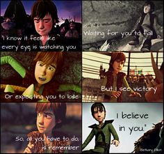 HTTYD. Hiccup. I Believe In You.