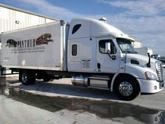Driving off the FYDA Freightliner lot with my brand new 2012, Freight Liner, Cascadia, Columbus, Ohio.