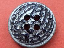 14 Knöpfe grau 18mm (4694-2) Jackenknöpfe Knopf