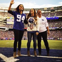 """""""Joining forces with the Joyful Heart Foundation and our longtime partner the NY Giants to shine a light on all those impacted by intimate partner violence proved to be an exceptional opportunity. It represented how far we have come and our commitment to staying focused  on the work ahead. Together, we are a powerful force - providing hope,  achieving justice and changing lives."""" - Karen Cheeks-Lomax, Esq., MSP CEO Pictured: Mariska Hargitay, Danielle Herzlich & Karen Cheeks-Lomax, Esq. 10/2..."""