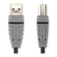 Bandridge BCL4105 4.5m USB A-B Kabel zwart  Bandridge BCL4105 4.5m USB A-B Kabel zwart  EUR 10.15  Meer informatie