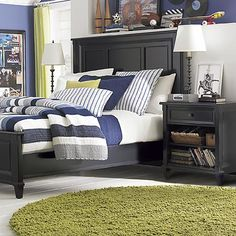 panel bed chatham collection by bassettfurniture antique black bedroom furniture