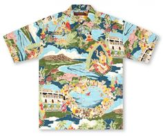 Tori Richard Boat Day Aloha | Aloha Shirt Shop