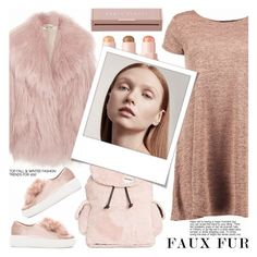 """Wow Factor: Faux Fur"" by shoaleh-nia ❤ liked on Polyvore featuring Boohoo, Miu Miu, Steve Madden, Polaroid and Puma"
