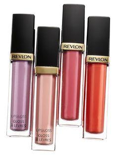Bella's BEST drugstore lipgloss is Revlon Super Lustrous Lipglosses!