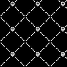 Grind My Bones (Rotate) fabric by leighr on Spoonflower - custom fabric