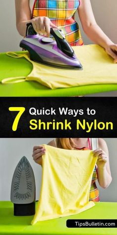 Diy Cleaning Products, Cleaning Solutions, Cleaning Hacks, Clean House, Dryer, How To Shrink Clothes, Fabric Scissors, Natural Health Tips, Household