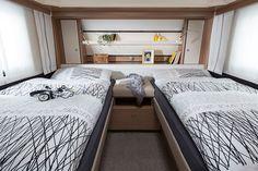 Fendt-Caravan   Tendenza bedroom 2