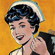 Pop Art Nurse