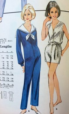 Page in a Butterick July 1966 catalog. #vintagesewing