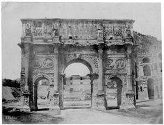 Arc de Constantin, Rome 1850