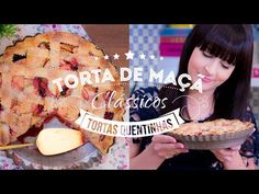 Nice Patrocinio shared a video Sweet Desserts, Sweet Recipes, Quiche, Sweet Pie, Kitchen Recipes, Kiwi, Tart, Muffin, Food Porn