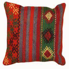 Kilim Pattern Pillow 4