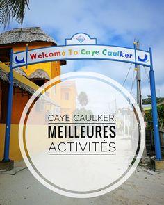Caye Caulker: les meilleures activités - Travel Sleep and Repeat Caye Caulker, Belize Voyage, Destinations, Destination Voyage, Caribbean, Sleep, Organiser, Blog, Repeat