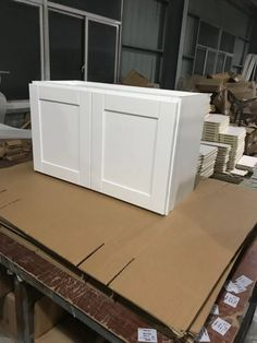 White Shaker Cabinets, White Dressers