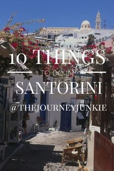 Traveling to Santorini? Here are 10 things you can't miss doing in Santorini. Holiday Destinations, Vacation Destinations, Dream Vacations, Romantic Vacations, Romantic Travel, Greece Vacation, Greece Travel, Greece Trip, Travel Europe