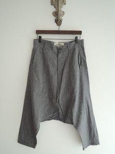 Увеличить дисплей изображения Loose Pants, Boho Pants, Linen Pants, Thai Harem Pants, Swedish Fashion, Shabby Look, Boho Fashion, I Love Fashion, Winter Outfits Men