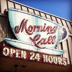 Its morning somewhereWhy Wait? shanestroud: Morning Call, Metry, Louisiana (Taken with instagram)